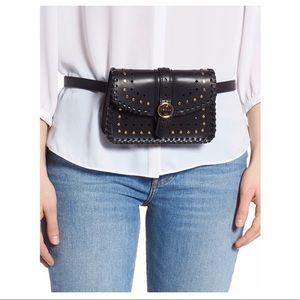 SoleSociety Ivah Belt Bag Purse Black